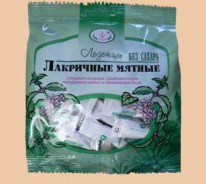 Конфеты для диабетиков продаются в магазине