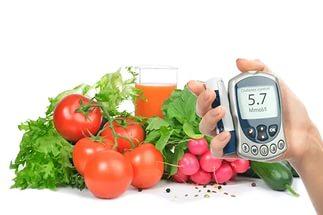 Во организма время брать диеты для глюкозу где