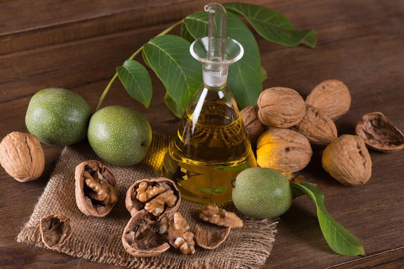 Как приготовить настойку из грецкого ореха и керосина