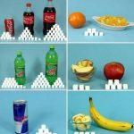 Содержание сахара в продуктах: таблица для диабетиков